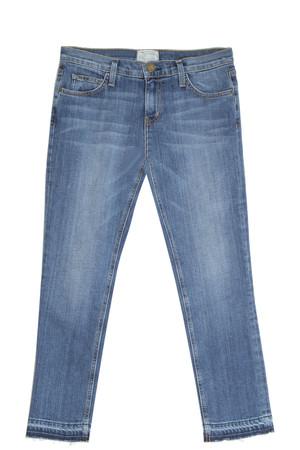 Current/elliott Women`s Cropped Straight Jeans Boutique1