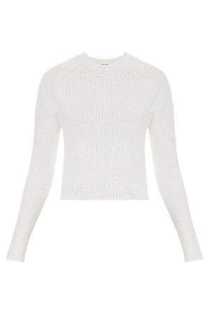 Derek Lam 10 Crosby Women`s Cropped Sweater Boutique1