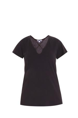 Lna Women`s Cross Front T-shirt Boutique1