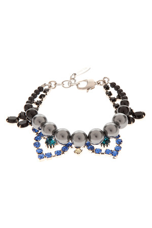 Joomi Lim Women`s Crystal Amp; Pearl Bracelet Boutique1