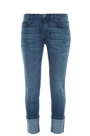 Current/elliott Women`s Cuffed Skinny Jeans Boutique1