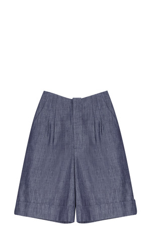 Adam Lippes Women`s Denim Shorts Boutique1