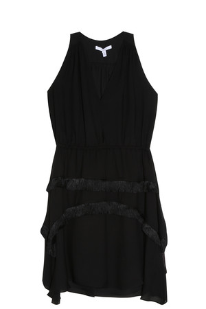 Derek Lam 10 Crosby Women`s Fringed Dress Boutique1