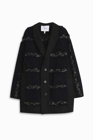 Derek Lam 10 Crosby Women`s Fringed Jacket Boutique1