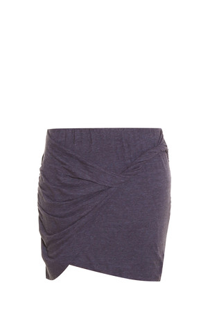 Lna Women`s Double Layer Mini Skirt Boutique1