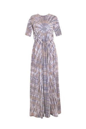Raquel Allegra Women`s Drawstring Maxi Dress Boutique1