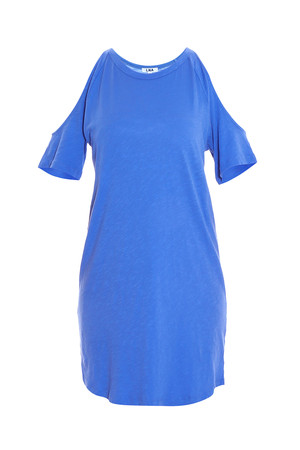 Lna Women`s Ella Open Shoulder Dress Boutique1