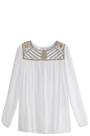 Paul Joe Women`s Embroidered Blouse Boutique1