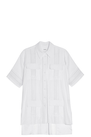 Adam Lippes Women`s Embroidered Shirt Boutique1