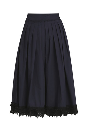 Derek Lam 10 Crosby Women`s Embroidered Skirt Boutique1