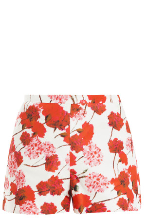 Giambattista Valli Women`s Floral Gazar Shorts Boutique1
