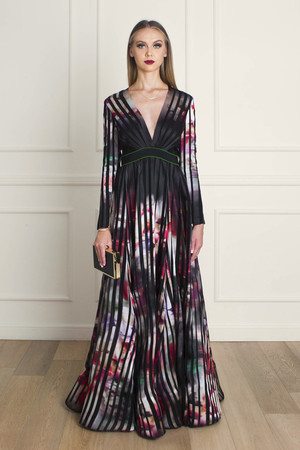 Elie Saab Women`s Floral Gown Boutique1