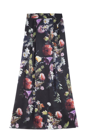 Adam Lippes Women`s Floral Skirt Boutique1