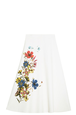 Erdem Women`s Floral Skirt Boutique1