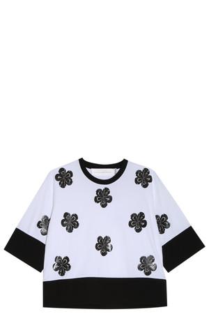 Victoria, Victoria Beckham Women`s Flower T-shirt Boutique1