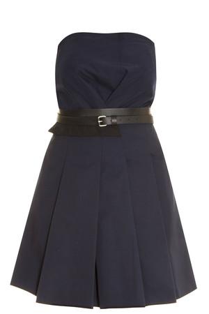 Victoria, Victoria Beckham Women`s Fold Front Dress Boutique1