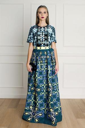 Peter Pilotto Women`s Freya Waffle Skirt Boutique1