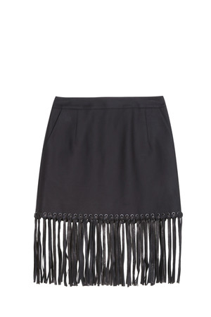 Alexander Wang Women`s Fringed Skirt Boutique1