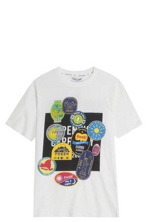 Fruit Sticker T-Shirt
