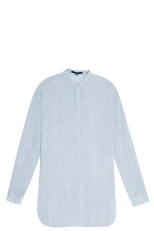 Tibi Women`s Gauze Shirt Boutique1