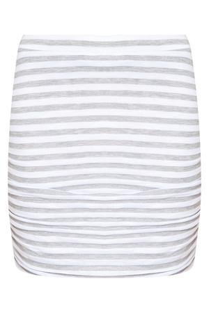 Splendid Women`s Glen Valley Stripe Skirt Boutique1