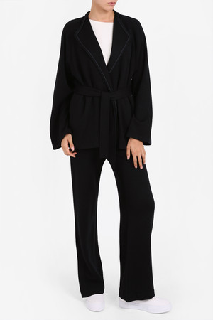 Helmut Lang Women`s Soft Pique Jacket Boutique1