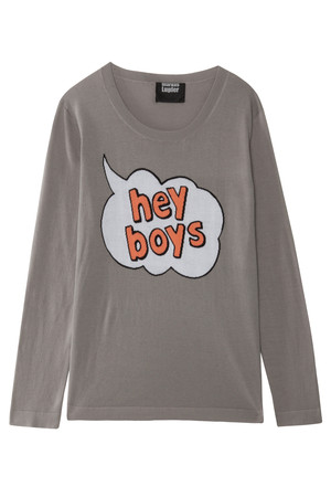 Markus Lupfer Women`s Hey Boys Cotton Jumper Boutique1