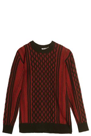 T By Alexander Wang Women`s Honeycomb Sweater Boutique1