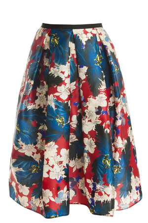 Erdem Women`s Ina Floral Skirt Boutique1