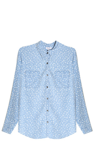 Splendid Women`s Indigo Floral Shirt Boutique1