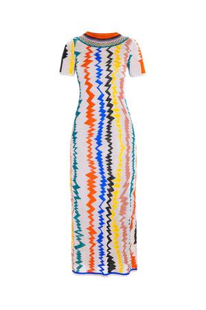 Intarsia Dress