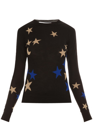 Diane Von Furstenberg Women`s Intarsia Sweater Boutique1