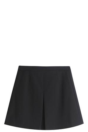 Vince Women`s Inverted Pleat Skirt Boutique1