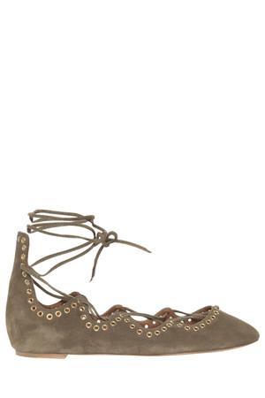Isabel Marant Women`s Leo Lace Up Shoes Boutique1