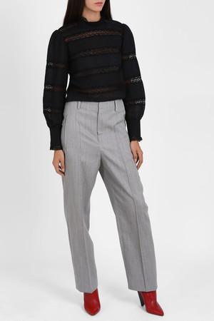 Isabel Marant Women`s Ramis Wide Leg Trousers Boutique1