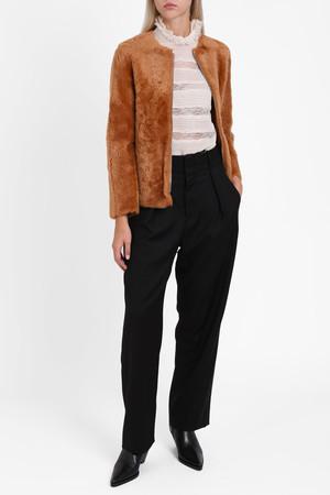 Isabel Marant Women`s Shearling Reversible Jacket Boutique1