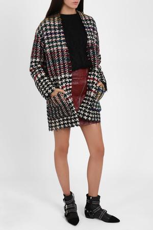 Isabel Marant Women`s Woven Tweed Coat Boutique1