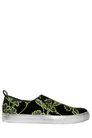Giambattista Valli Women`s Jacquard Sneakers Boutique1