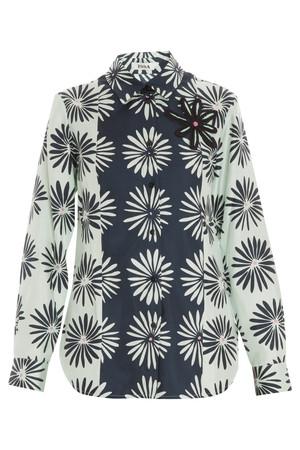 Issa London Women`s Johanna Printed Shirt Boutique1