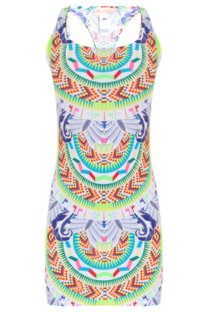 Mara Hoffman Women`s Jungle Print Mini Dress Boutique1