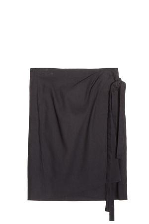 Isabel Marant Etoile Women`s Kamelia Tie Skirt Boutique1