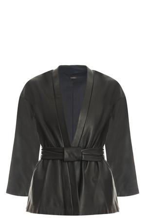 Adam Lippes Women`s Kimono Leather Jacket Boutique1