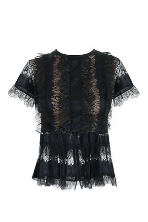 Elie Saab Women`s Lace Blouse Boutique1