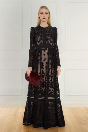 Elie Saab Women`s Lace Gown Boutique1