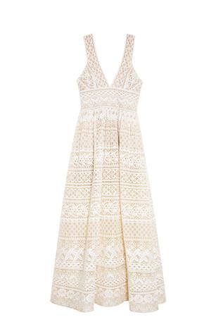 Elie Saab Women`s Lace Gown Boutique1