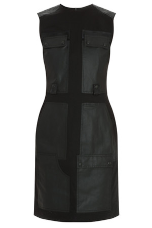 Alexander Wang Women`s Leather Panel Dress Boutique1