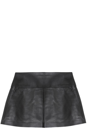 T By Alexander Wang Women`s Leather Skirt Boutique1