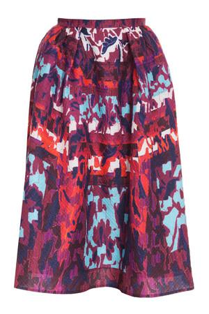 Peter Pilotto Women`s Long Printed Emma Skirt Boutique1