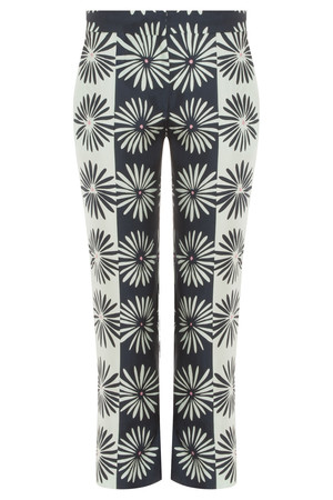 Issa London Women`s Marion Printed Silk Pant Boutique1
