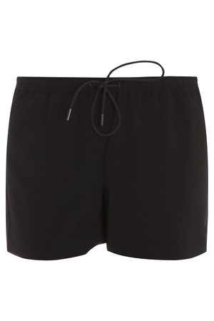 Alexander Wang Women`s Matte Crepe Drawstring Shorts Boutique1